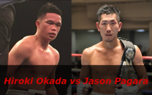 Бой Хироки Окада против Джейсон Пагара