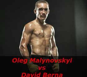 Видео боя Олег Малиновский – Девид Берн – Oleg Malynovskyi vs David Berna