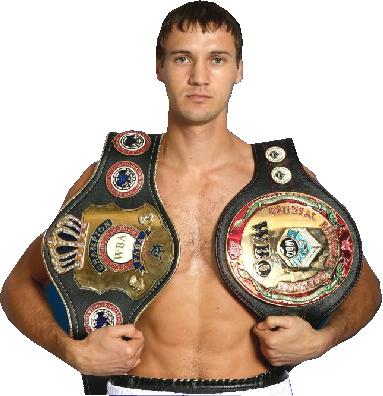 Василий Лепихин — российский боксёр-профессионал
