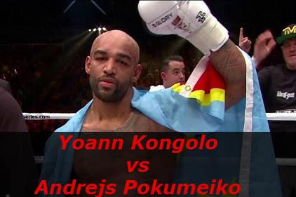 Бой Йоан Конголо против Андрей Покумейко