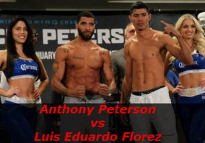 Fight Anthony Peterson vs Luis Eduardo Florez
