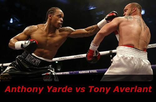 Бой Энтони Ярд против Тони Аверлант