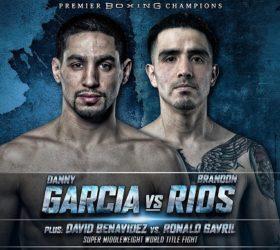 Видео поединка Дэнни Гарсиа vs Брэндон Риос — Danny Garcia vs Brandon Rios