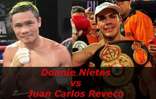 Бой Донни Нитеш против Хуан Карлос Ревеко