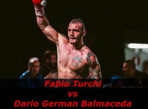 Бой Фабио Турчи против Дарио Герман Бальмаседа