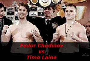 Бой Фёдор Чудинов против Тимо Лэйн