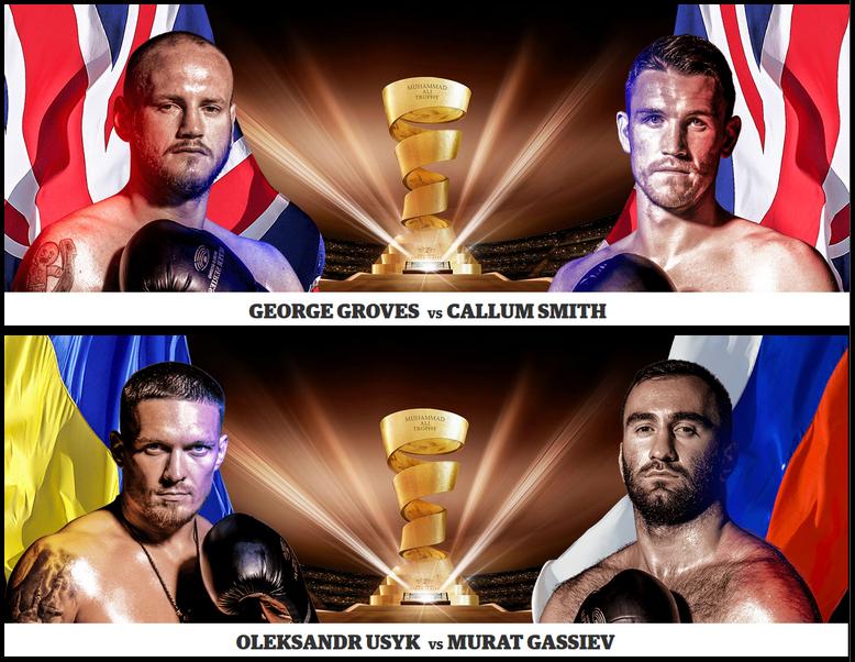 Финал всемирной боксерской суперсерии - Final world boxing superseries