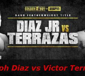 Видео поединка Джозеф Диас — Виктор Терразас — Joseph Diaz vs Victor Terrazas