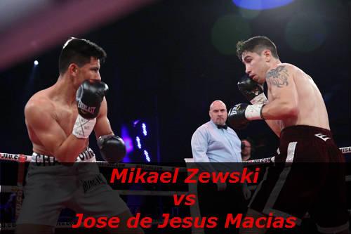 Бой Микаэль Зевски против Хосе де Хесус Масиас