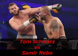 Бой Том Шварц против Самир Небо