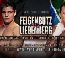 Видео поединка Винсент Фейгенбуц vs Рыно Либенберг — Vincent Feigenbutz vs Ryno Liebenberg