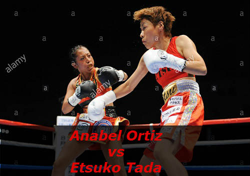 Бой Анабель Ортис против Эцуко Тада