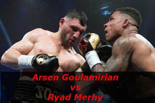 Бой Арсен Гуламирян против Ряд Мерхи