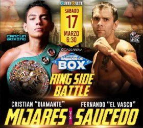 Видео поединка Кристиан Миджарес — Фернандо Дэвид Сауседо — Cristian Mijares vs Fernando David Saucedo