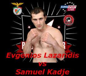 Видео поединка Евгениос Лазаридис — Самуэль Кадже — Evgenios Lazaridis vs Samuel Kadje