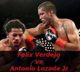 Видео поединка Феликс Вердехо — Антонио Лозада мл — Felix Verdejo vs Antonio Lozada Jr