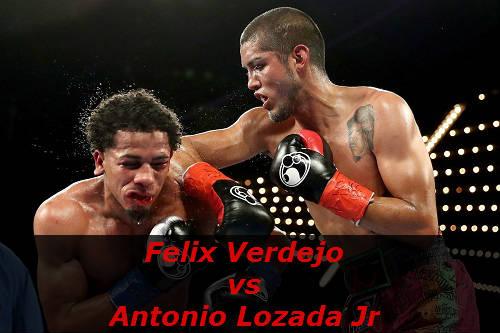 Бой Феликс Вердехо против Антонио Лозада мл