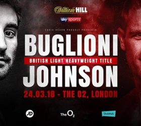 Видео поединка Фрэнк Буглиони — Каллум Джонсон — Frank Buglioni vs Callum Johnson