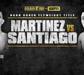 Видео поединка Хосе Мартинес — Александр Сантьяго — Jose Martinez vs Alexandro Santiago