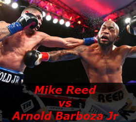 Видео поединка Майк Рид — Арнольд Барбоза, мл — Mike Reed vs Arnold Barboza Jr
