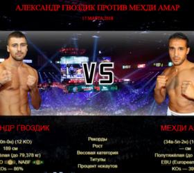 Видео поединка Александр Гвоздик — Мехди Амар — Oleksandr Gvozdyk vs Mehdi Amar
