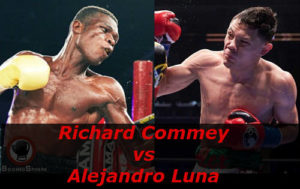 Бой Ричард Комей против Алехандро Луна