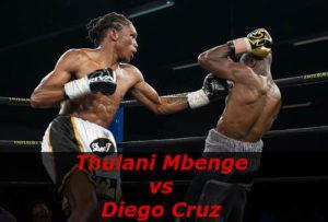 Бой Тулани Мбенге против Диего Круз