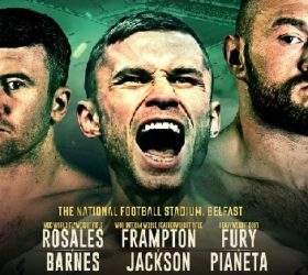 Видео поединка Карл Фрэмптон — Люк Джексон — Carl Frampton vs Luke Jackson