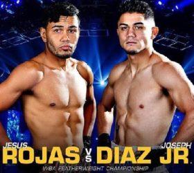 Видео поединка Джозеф Диас — Иисус М Рохас — Jesus M Rojas vs Joseph Diaz