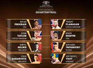 WBSS второй сезон - Пары боксеров второго лёгкого веса (До 58,9 кг) - четвертьфинал 2-го сезона всемирной боксерской суперсерии