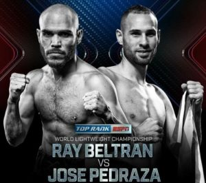Бой Раймундо Белтран против Хосе Педраза - Raymundo Beltran vs Jose Pedraza
