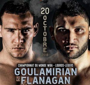 Бой Арсен Гуламирян против Марк Фланаган