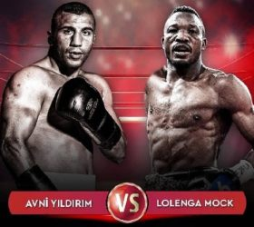 Видео боя Авни Йилдирим — Лоленга Мок — Avni Yildirim vs Lolenga Mock