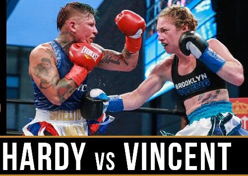 Видео боя Бой Хизер Харди — Шелли Винсент — Heather Hardy vs Shelly Vincent
