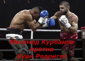 Бой Магомед Курбанов против Хуан Родригес