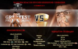 Афиша - бой Максим Власов против Кшиштоф Гловацки