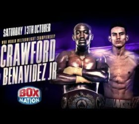 Видео боя Теренс Кроуфорд — Хосе Бенавидес — Terence Crawford vs Jose Benavidez