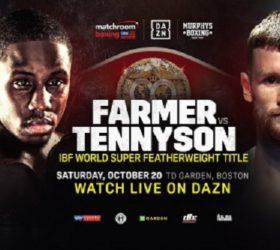Видео боя Тевин Фармер — Джеймс Теннисон — Tevin Farmer vs James Tennyson