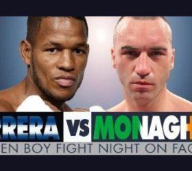 Бой Салливан Баррера против Шон Монаган — Sullivan Barrera vs Sean Monaghan