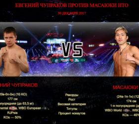 Видео боя Евгений Чупраков против Масаюки Ито