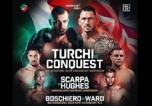 Бой Фабио Турчи против Тони Конквест