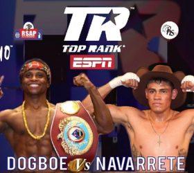 Видео боя Исаак Догбоэ — Эмануэль Наваррете / Isaac Dogboe vs Emanuel Navarrete