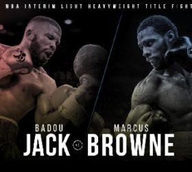 Видео боя Баду Джек — Маркус Браун / Badou Jack vs Marcus Browne