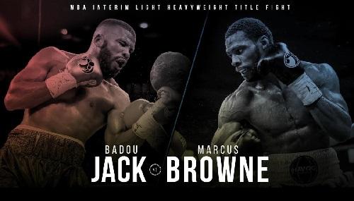 Бой Баду Джек против Маркус Браун