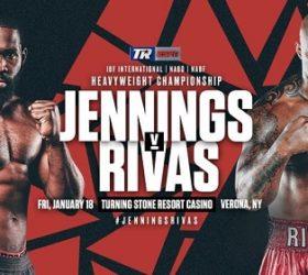 Видео боя Брайант Дженнингс — Оскар Ривас / Bryant Jennings vs Oscar Rivas