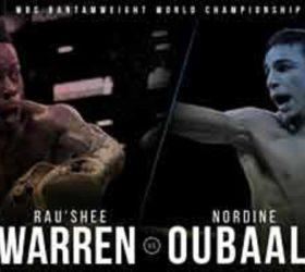 Видео боя Рауши Уоррен — Нордин Оубаали / Rau'shee Warren vs Nordine Oubaali