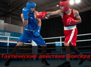 Тактические действия боксера