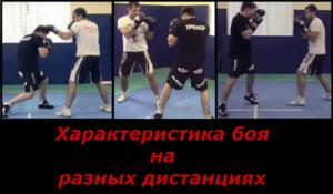 Дистанции в боксе - характеристика боя на разных дистанциях