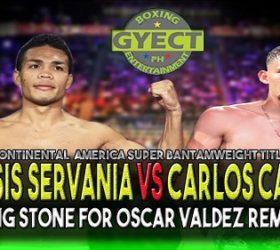 Видео боя Дженезис Серваниа — Карлос Кастро / Genesis Servania vs Carlos Castro