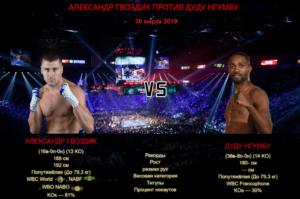 Александр Гвоздик - Дуду Нгумбу / Oleksandr Gvozdyk vs Doudou Ngumbu